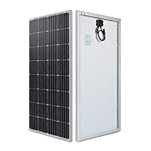Renogy 160 Watt 12 Volt Monocrystalline Solar Panel, 160W Mono,