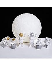 Home decorationNordic Astronaut Figurines Resin Sculpture Modern Home Decor Miniatures Table Ornaments Cosmonaut Figure Home Decorative