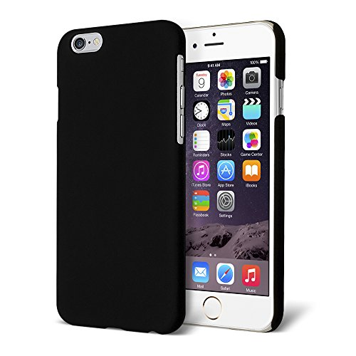 Celicious Slender R Rubberised Back Cover Case for Apple iPhone 6 - Black