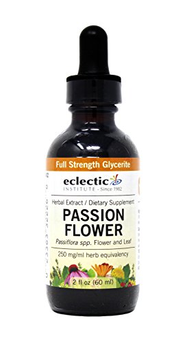 Eclectic Passion Flower G, Orange, 2 Fluid Ounce Eclectic Institute Passion Flower