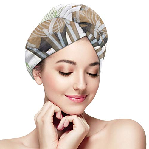 Sheep & Grass The Original Microfiber Hair Wrap As Seen On TV! Plopping Towel for Long and Curly Hair Women