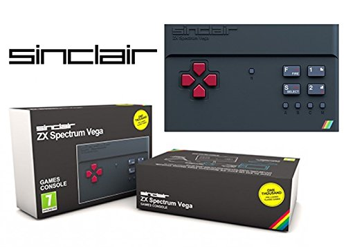 Sinclair ZX Spectrum Vega Console. Plug into your TV and play 1000 pre-loaded, licensed games.