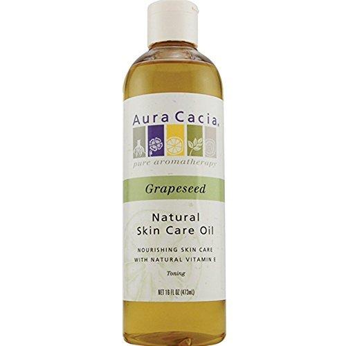 Aura Cacia Skin Care Oil Grapeseed 16 Fz
