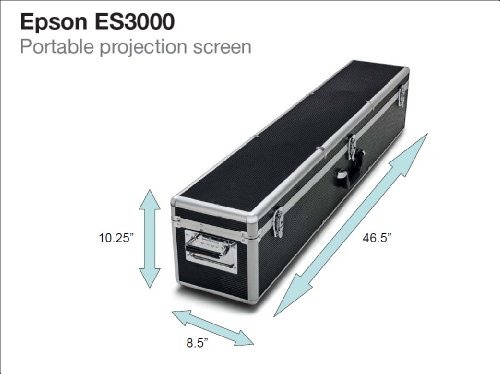 Epson Projector Screen : Epson es ultra portable projection screen v h s y