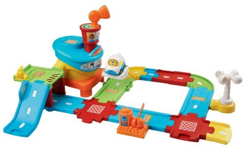 【メーカー包装済】 VTech Go! Go! Smart Go! Wheels Go! Airport Playset Airport [並行輸入品] B072FSMWDN, 建築金物 SHOP:a8ade3b4 --- a0267596.xsph.ru