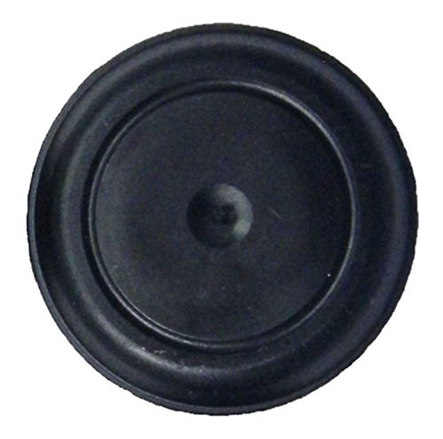 (Pack of 25) 1'' - (1 inch) Black Rubber Plugs || for Flush Mount Body and Sheet Metal Holes. Fits 1'' Hole - Ergonomic Button Plugs with Flush-Type Heads || Made in USA by Caplugs