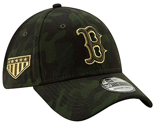 ton Red Sox Hat Cap Armed Forces Day 39Thirty 3930 (S/M) ()