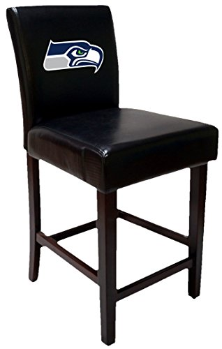 OS Home and Office 24SS Two Seattle Seahawks Barstools Officially Licensed 24