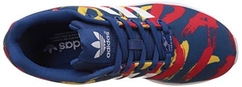 adidas ZX Flux, Women's Trainers Blue (Blu (Bleu (Dark Marine/White/White)))