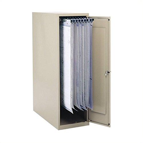 SAF5041 - Safco Large Enclosed Vertical File Cabinet