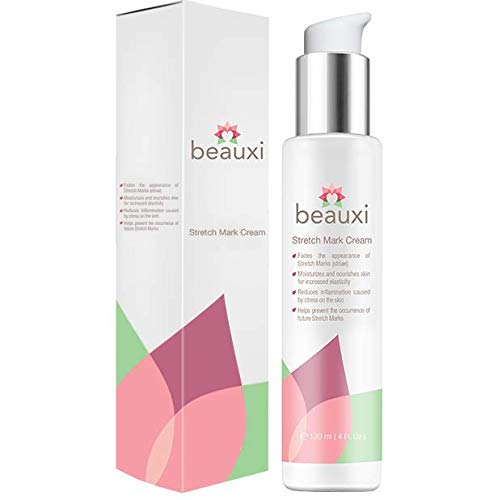 beauxi Stretch Mark Cream, to Reduce and Prevent Stretch Marks Caused by Pregnancy or weight Gain, Effective For Both Men & Women by beauxi