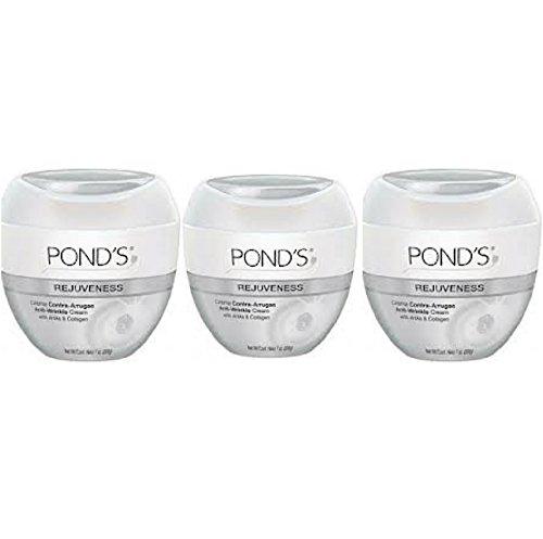 Pond's Rejuveness Anti-Wrinkle Cream Travel Size 1.75 oz. Jar (Pack Of 3)
