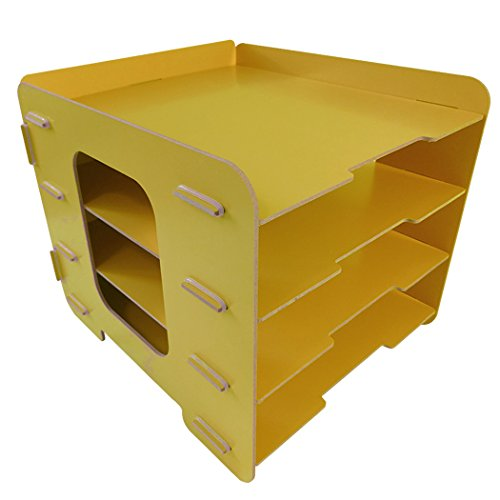 yellow desk tray - 5