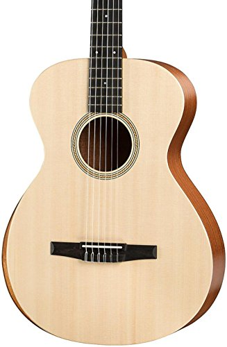 Taylor Academy Series Academy 12e-N Grand Concert Nylon Acoustic Guitar Natural ()
