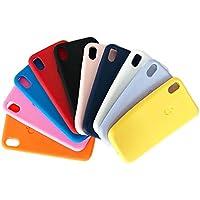 Capa Silicone Colorida iPhone XR Capinha Totalmente Flexível, Alta Durabilidade (Vermelho)