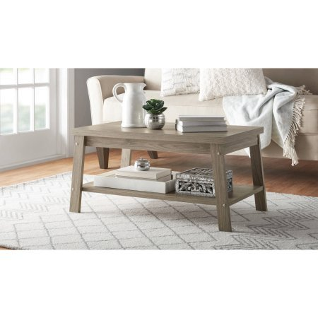 Logan Coffee Table, Color Rustic Oak by Mainstay*
