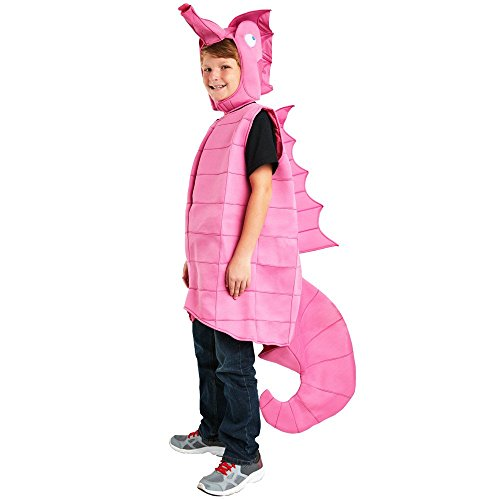 Child Pink Seahorse Costume Medium -