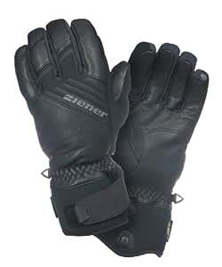 Ziener Handschuh Gomm GTXR XCRR Glove Ski Alpine - Guantes de esquí para hombre, color negro, talla 6.5