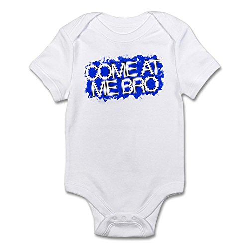 CafePress Come at Me Bro - Jersey Shore Body Suit Cute Infant Bodysuit Baby Romper