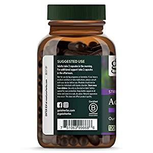 Gaia Herbs Adrenal Health Daily Support, Stress Relief and Adrenal Fatigue Supplement, Packaging may Vary