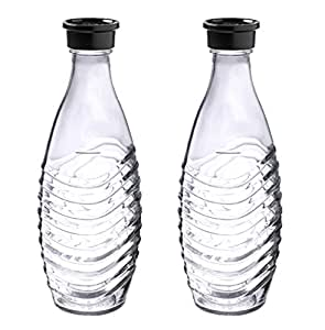 Sodastream 1047200490 flaska glass, 2 x 600ml, genomskinlig