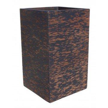 Pflanzkasten quadratisch Aspel 40x 40x 70cm. Natürliche Oxido
