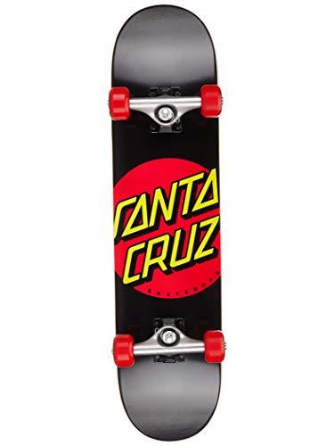 "Santa Cruz Skate Classic Dot Sk8 Completes 7.25"" X 29.9"", Wh"