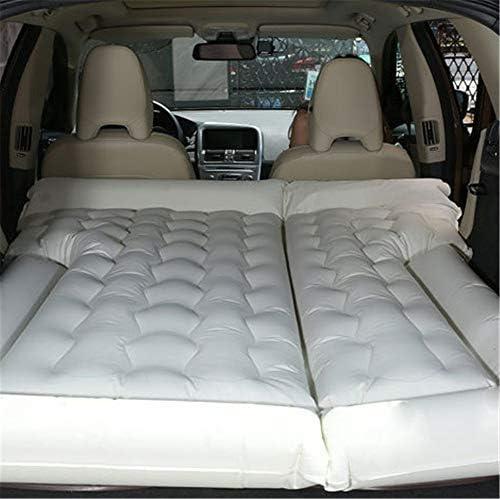 BeIge beige Camping coche funda para coj/ín aire inflaci/ón de viaje cama colch/ón asiento trasero extendida sof/á para SUVs y autom/óviles y camiones pvc with baffle