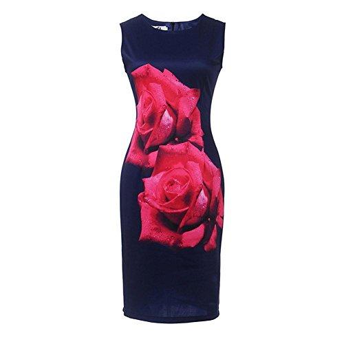 Fit Bodycon Dress Dress Erosebridal E Cocktail Business Dress Sleeveless Slim Women's Pencil FTYfwqX