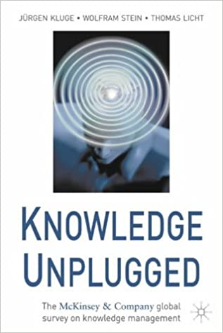 Knowledge Unplugged: The McKinsey Global Survey of Knowledge