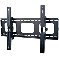 2xhome - Professional Universal Flat No Arm Tilt 15 degree Up and Down Adjustable Wall Mount Bracket Compatible with Samsung Vizio Panasonic Sharp Sony LG Flat Panel TVs Sizes 32 37 38 40 42 44 45 46 47 48 50 55 60 65 70 75 80 85 90 inches VESA Size up to 720mm x 470mm Hold up to 176Lbs Strong Heavy Duty Steady TV mount Bracket Black Free Bubble level