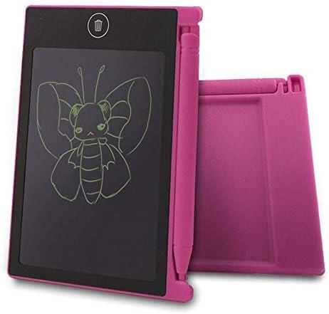 LKJASDHL 4.4インチの創造的なLCDタブレットの子供の落書きの絵画タブレットの軽いおもちゃが付いている電子軽い小さい黒板の引くこと (色 : 紫の)