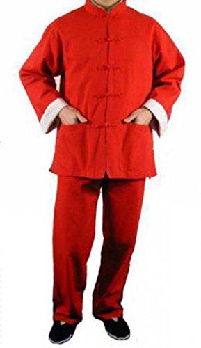 Uniforme Kung Fu Completo Arti Marziali Tai Chi in 100% Cotone 125