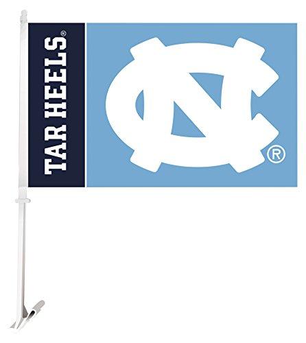 BSI NCAA North Carolina Tar Heels Flag with Free Wall Bracket by BSI