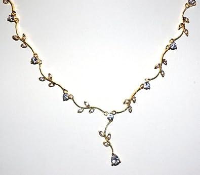 Amazon.com  Bridal Flower Design Crystal Swarovski Rhinestone ... 274c2f5f9