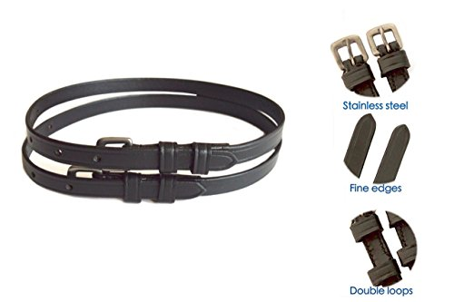 SIE Premium Leather Spur Straps- Adult (Leather Spur)