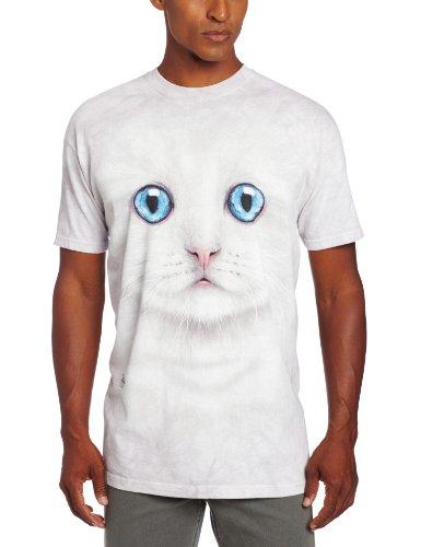 The Mountain Ivory Kitten Face T-Shirt, XX-Large, Ivory - Kitten Face