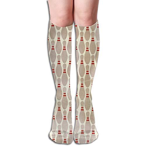 (Long Socks Mid High Socks Stockings Bowling Pins)