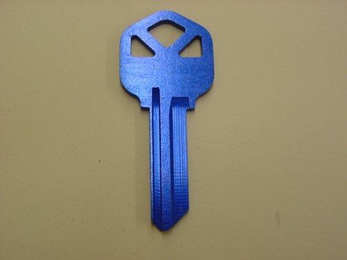 Blue Kwikset Key Blank ()