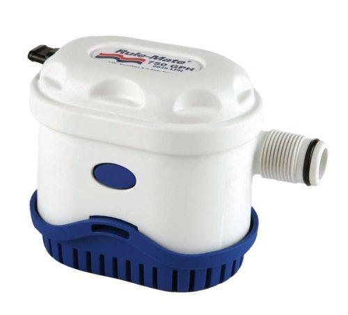 - Rule RM750A Marine Rule-Mate 750A Marine Bilge Pump (750-GPH, 12-Volt)