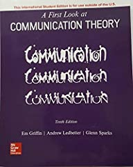 ISBN: 9781260091564 is an International Student Edition of A First Look at Communication Theory 10th Edition by Em Griffin, Andrew M. Ledbetter and Glenn G. Sparks This ISBN 9781260091564 is Textbook only. It will not come with online access ...
