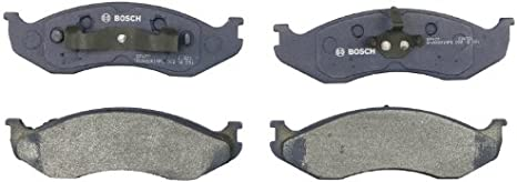 Journey Front Bosch BP1327 QuietCast Premium Semi-Metallic Disc Brake Pad Set For: Chrysler Town /& Country; Dodge Grand Caravan Wrangler; Ram C//V; Volkswagen Routan Nitro; Jeep Liberty