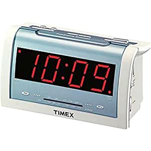timex t256w jumbo 1 4 led alarm clock radio electronics. Black Bedroom Furniture Sets. Home Design Ideas