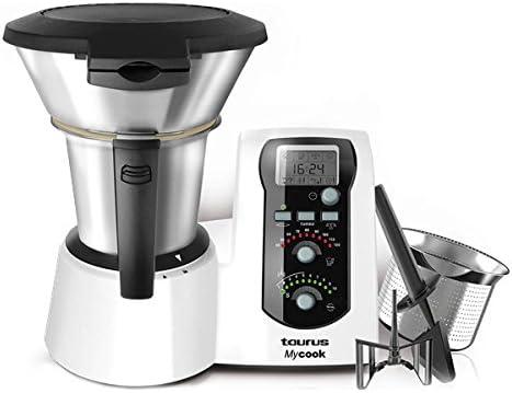 Robot de Cocina Taurus 923001 MyCook 2 L 1600W Blanco: Amazon.es: Hogar