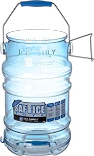San Jamar SI6000 Saf-T-Ice Commercial Tote Bucket, 6 Gallon