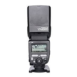YONGNUO YN685 GN60 2.4G System ETTL HSS Wireless Flash Speedlite with Radio Slave for Canon