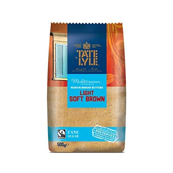 Tate And Lyle Light Soft Brown Sugar, 500 g