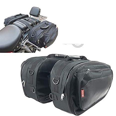 Amazon.com: Motorcycle Side Luggage Locomotive Rider Saddle ...