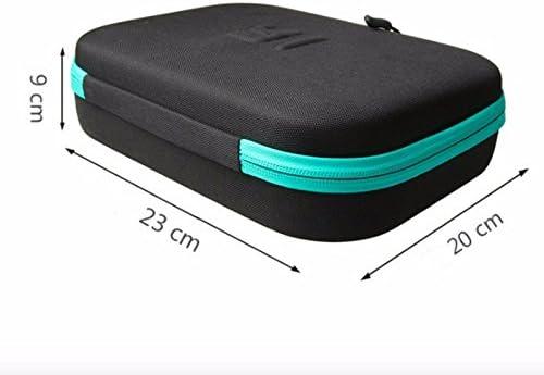 Bolsa de almacenamiento portátil a prueba de golpes con goma EVA para accesorios de cámara deportiva Xiaomi Xiaoyi Yi 4 K.: Amazon.es: Deportes y aire libre