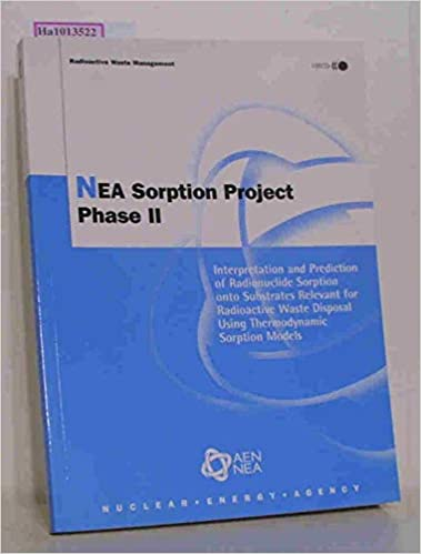 nea sorption project phase ii oecd publishing nuclear energy agency